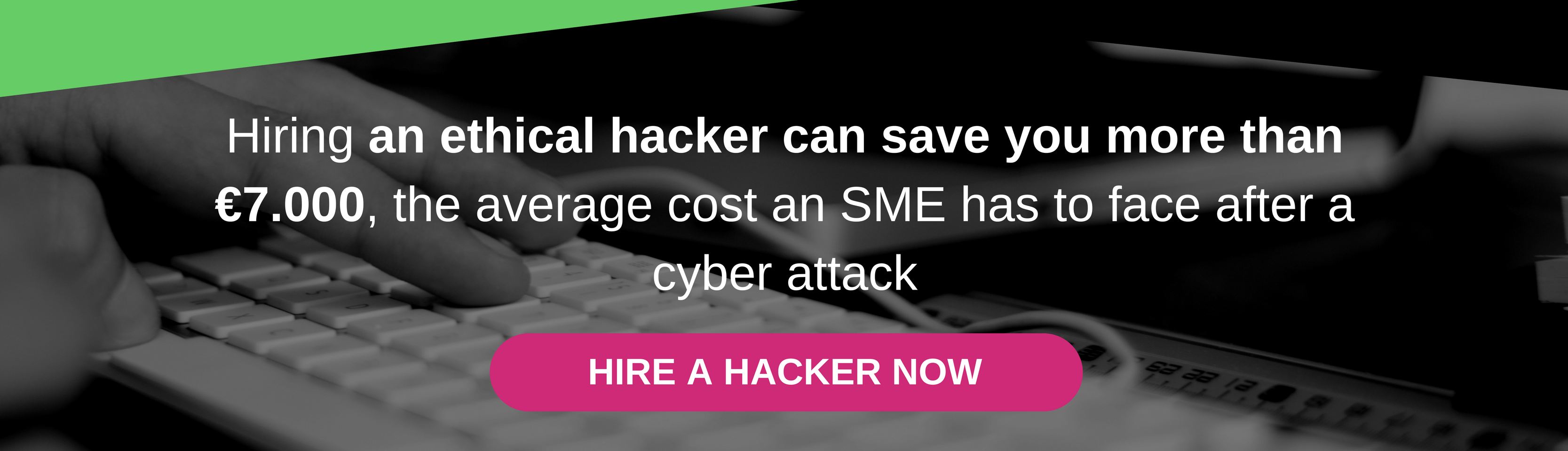 Hiring an ethical hacker can save you more than 7.000€