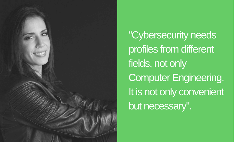 Silvia Barrera women in cybersecurity